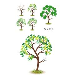 Money tree vector