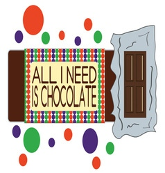 Need Chocolate vector