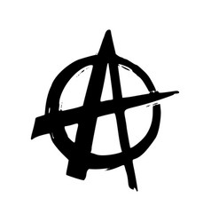 Punk rock collection anarchy monochrome symbol vector