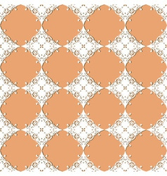 seamless vintage lacy pattern vector image