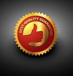 best choise label vector image