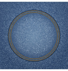jeans background vector image