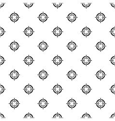 Crosshair viewfinder pattern simple style vector