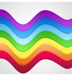 Beautiful Abstract Rainbow Background vector