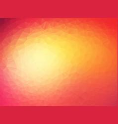 Beautifully sunset geometric background vector