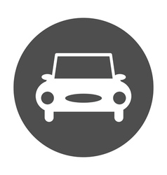 car round icon vector image