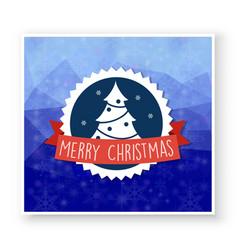christmas celebratory banner for design new year vector image