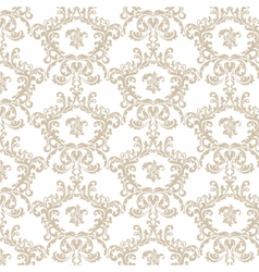 Golden Vintage Royal Classic pattern vector