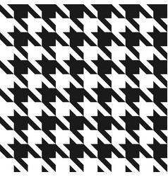 houndstooth seamless pattern vintage houndstooth vector image