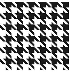houndstooth seamless pattern vintage vector image