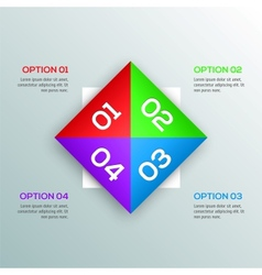 Modern Design template for your infographic vector image
