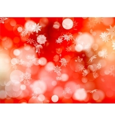 Red Christmas background EPS 10 vector image