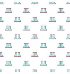 Rubber garden boots pattern seamless vector