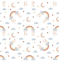 seamless pattern for children vector image