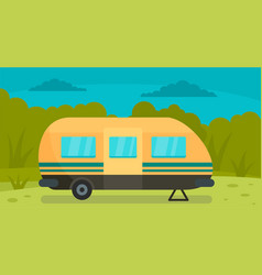travel trail background flat style vector image