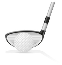 golf 04 vector image