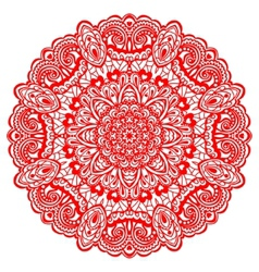 Flower Mandala Abstract element for design vector image