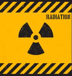 grunge radiation background vector image