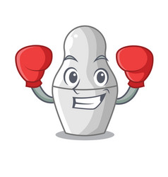 boxing nesting dolls mockups russian on character vector image