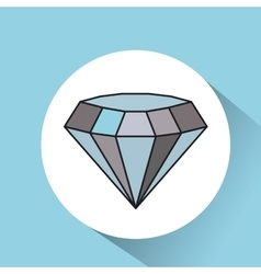 Diamond rich image icon vector