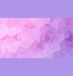 flat pink triangle background vector image