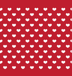 heart seamless pattern love repeating texture vector image
