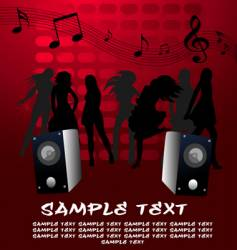 party poster vector image