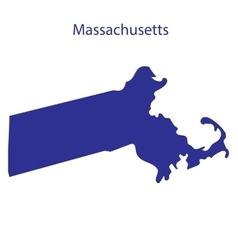 United States Massachusetts vector