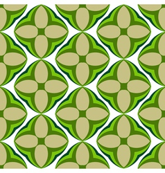 Water-melon flowers abstract seamless pattern vector image vector image