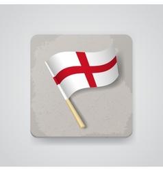 England flag icon vector image