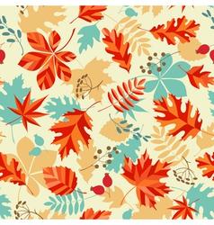 Bright autumn vector image