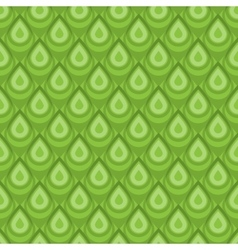 Green skin seamless pattern vector image