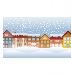 town and village vector image vector image