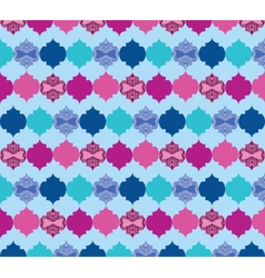 Abstract pattern with ornaments vector
