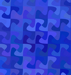 Blue abstract pattern background vector image