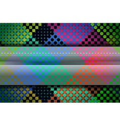 Dots colorful abstract background vector