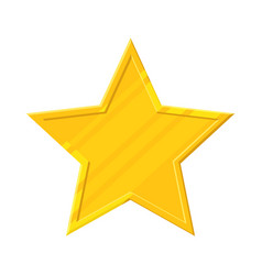 gold star icon vector image