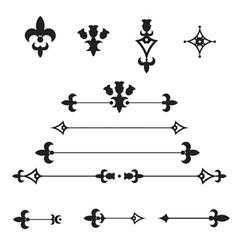 Ornate Dividers vector