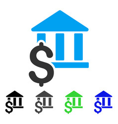 Pay library flat icon vector