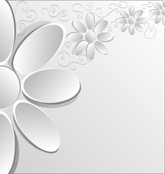 Flowers V vector image vector image