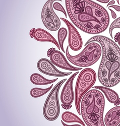 Paisley background vector image