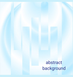 abstract elegant white and blue background vector image