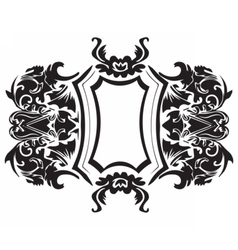 Baroque Ornament Decor vector