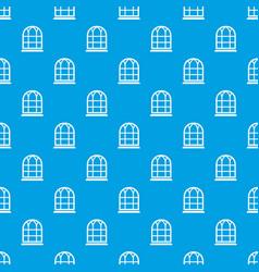 Big window frame pattern seamless blue vector