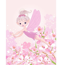 Flying Pixy Fairy vector