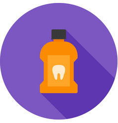 Mouth wash vector