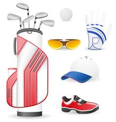 golf 13 vector image vector image