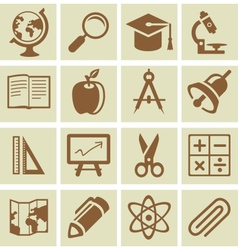 design elements for school and university vector image vector image