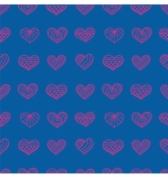 lace heart light vector image vector image