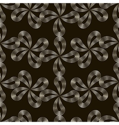 seamless pattern Stylish repeating texture Floral vector image vector image
